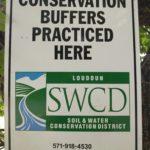 Conservation Buffer sign